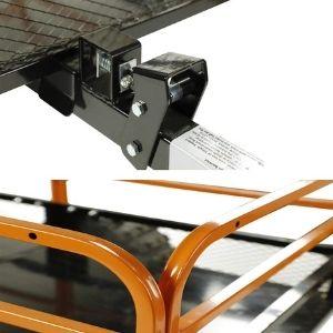 MotoAlliance Impact ATV/UTV Trailer Coupler and removable steel mesh