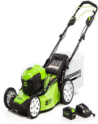 Greenworks 21-Inch 40V Brushless Self-Propelled Mower image