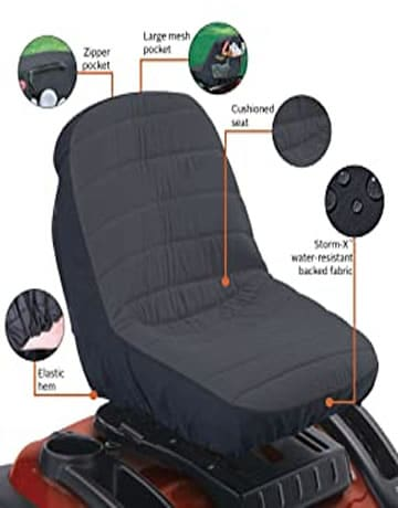 Classic Accessories Countoured Tractor Seat Cover
