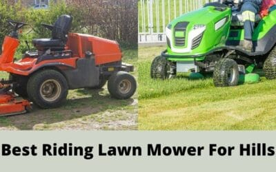 Best Riding Lawn Mower for Hills in 2021   Review and Buyer's Guide