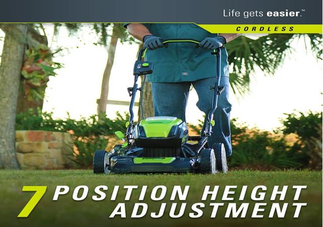 height adjustment position