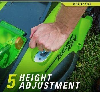 Greenworks G-MAX 40V 16'' Cordless Lawn Mower
