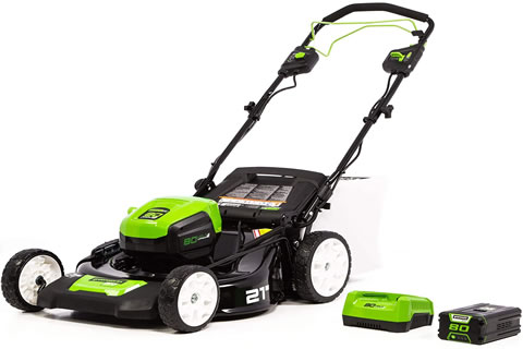 Greenworks 40V 20-Inch Cordless Twin Force Lawn Mower,