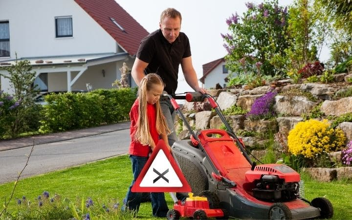 Lawn Mowing Safety Tips
