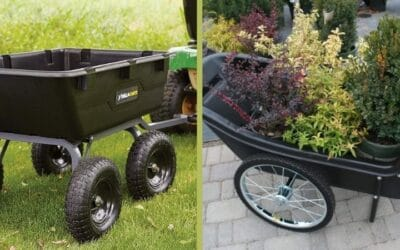 Dump Cart for Lawn Tractor and Garden Cart- Let's Disclose the Differences