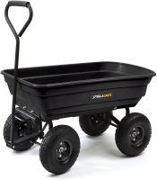 Gorilla Carts GOR200B Poly Garden Dump Cart