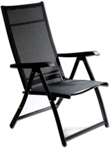 Heavy Duty Durable Adjustable Reclining Folding Chair