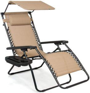 Steel Mesh Zero Gravity Recliner Lounge Chair.