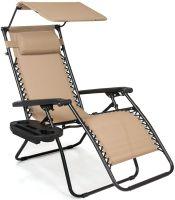 Steel Mesh Zero Gravity Recliner Lounge Chair