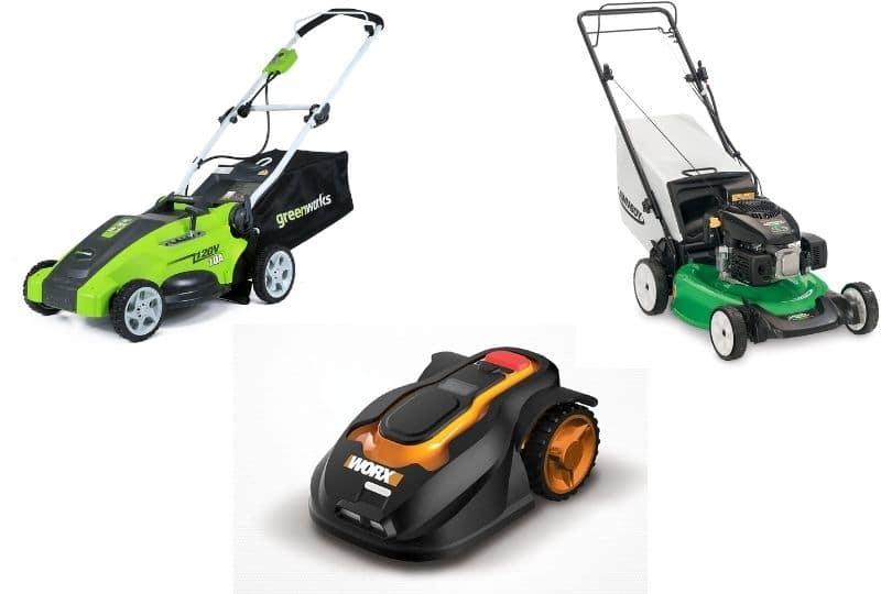 Easy start lawn mower