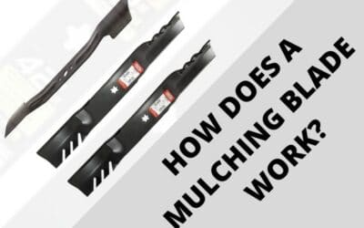 How Does A Mulching Blade work? | Complete Simplified
