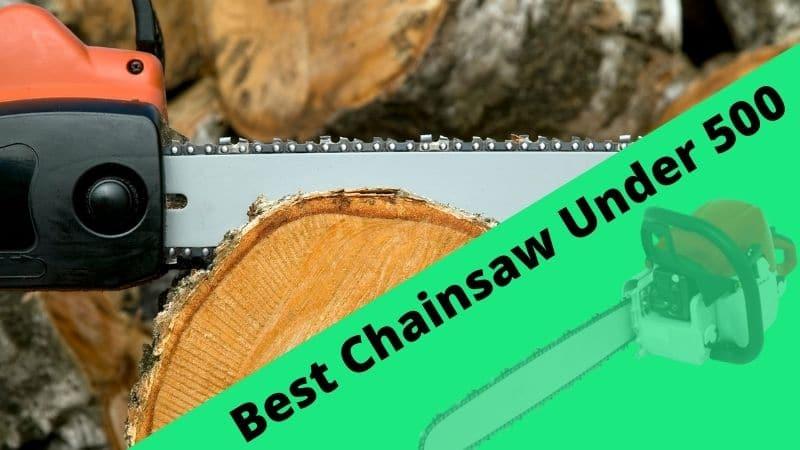 Image; best chainsaw under 500