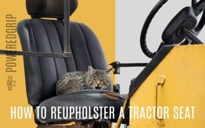 How to Reupholster A Tractor Seat | A Step By Step Guide